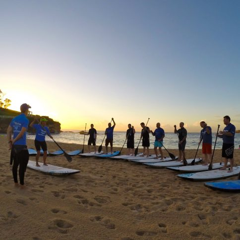 Corporate Stand Up Paddle Boarding (SUP) lesson